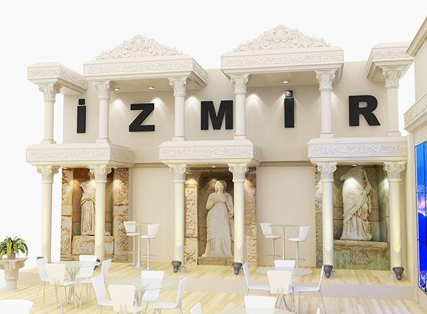 İzmir Travel Turkey Exhibition Stand Design
