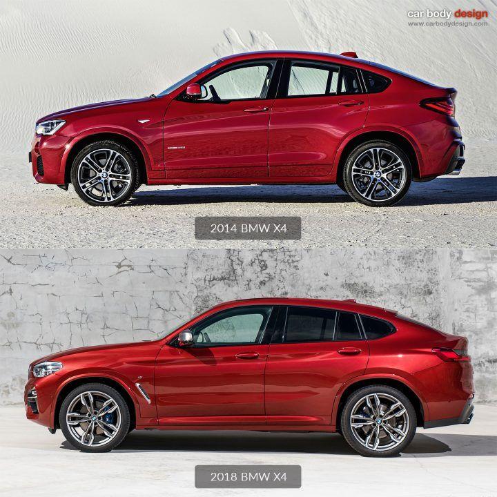 2014 Vs 2018 BMW X4 Design Comparison Link: