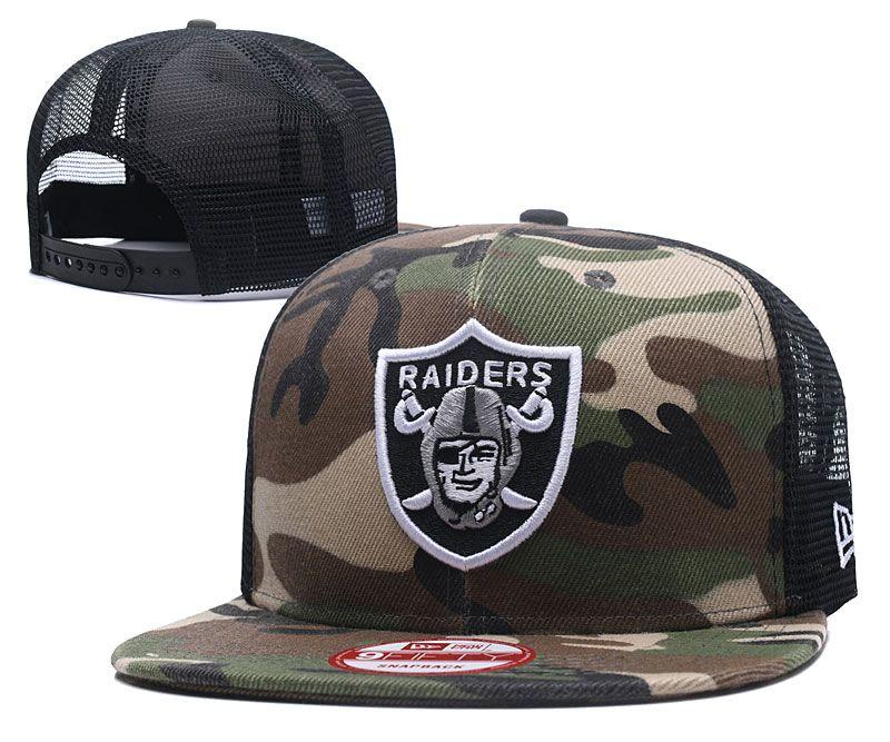 2018 NFL Oakland Raiders Snapback hat 4262