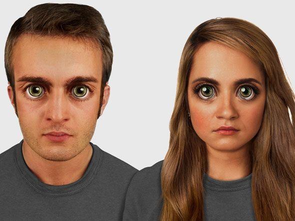 Dupla de pesquisadores produz ilustrações que mostram como seremos daqui 100 mil anos