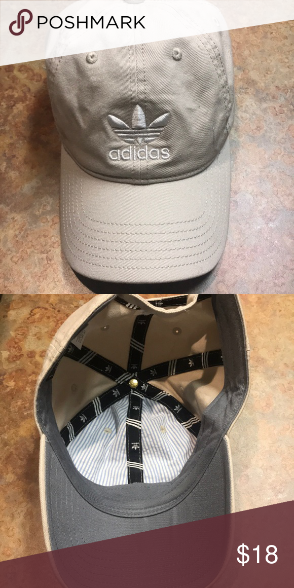 1678269fea1 Adidas hat- like new! Cream color adidas hat! Worn once