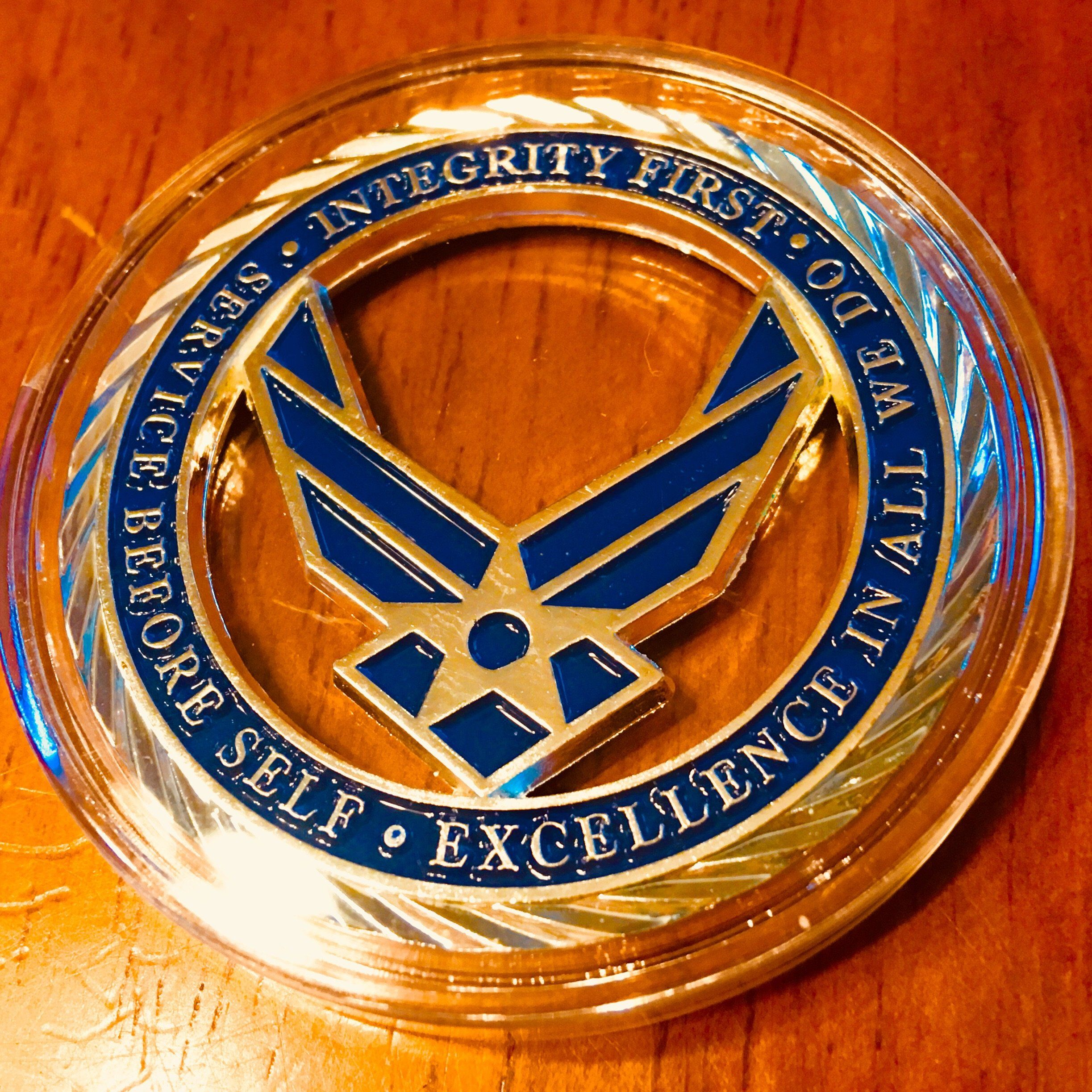 United States Air Force Challenge Coin Air force