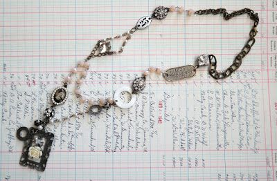 Artful Play: Tim Holtz Assemblage Necklace