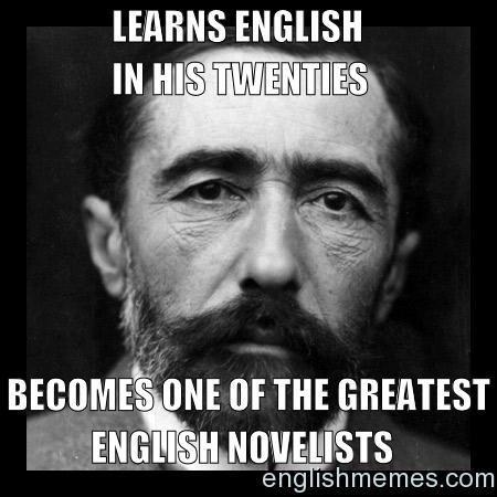 Joseph Conrad Joseph Conrad English Memes Secondary Ela Classroom