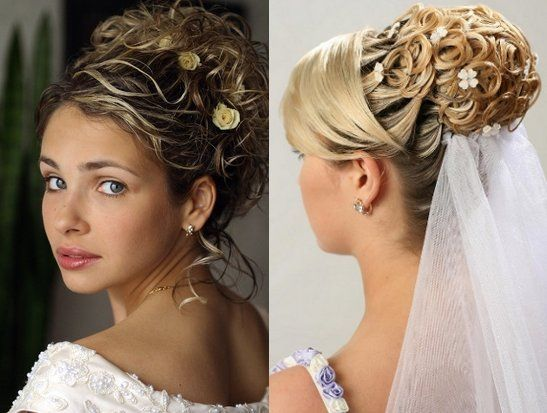 Wedding Hairstyles Updos With Veil And Tiara With Images