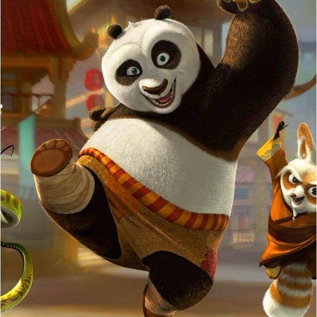 Kung Fu Panda Bear VS Winnie the Pooh Tigger Disney VS