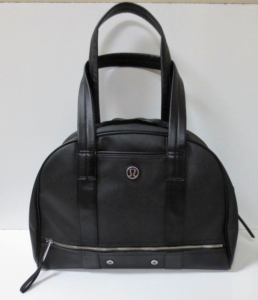 ebf65a059f LULULEMON Om For All Black Bowler Gym Bag NEW NO TAGS  Lululemon ...