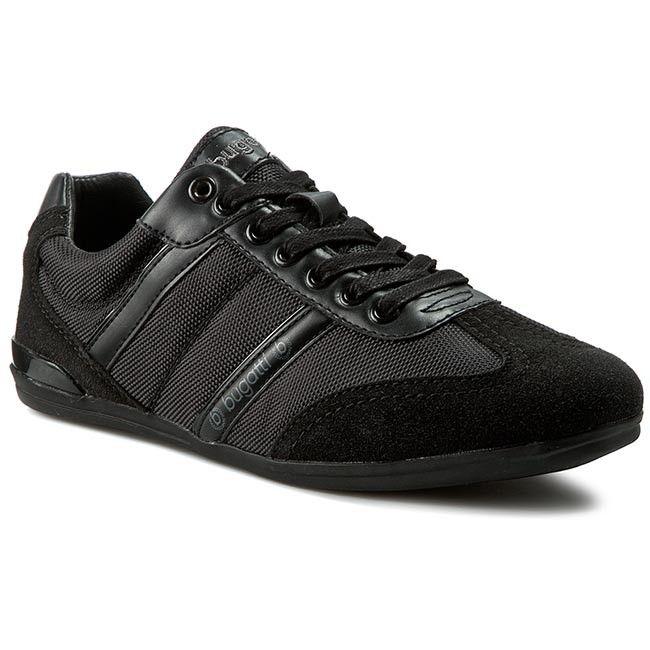Sneakersy Bugatti F4702 6n Black 100 Black Bugatti Shoes