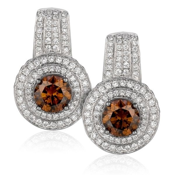 Come forum vintage chocolate diamond earrings