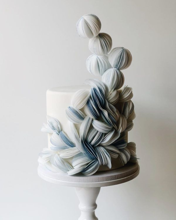 5 Modern Wedding Cake Trends Worth Bookmarking ⋆ Ruffled