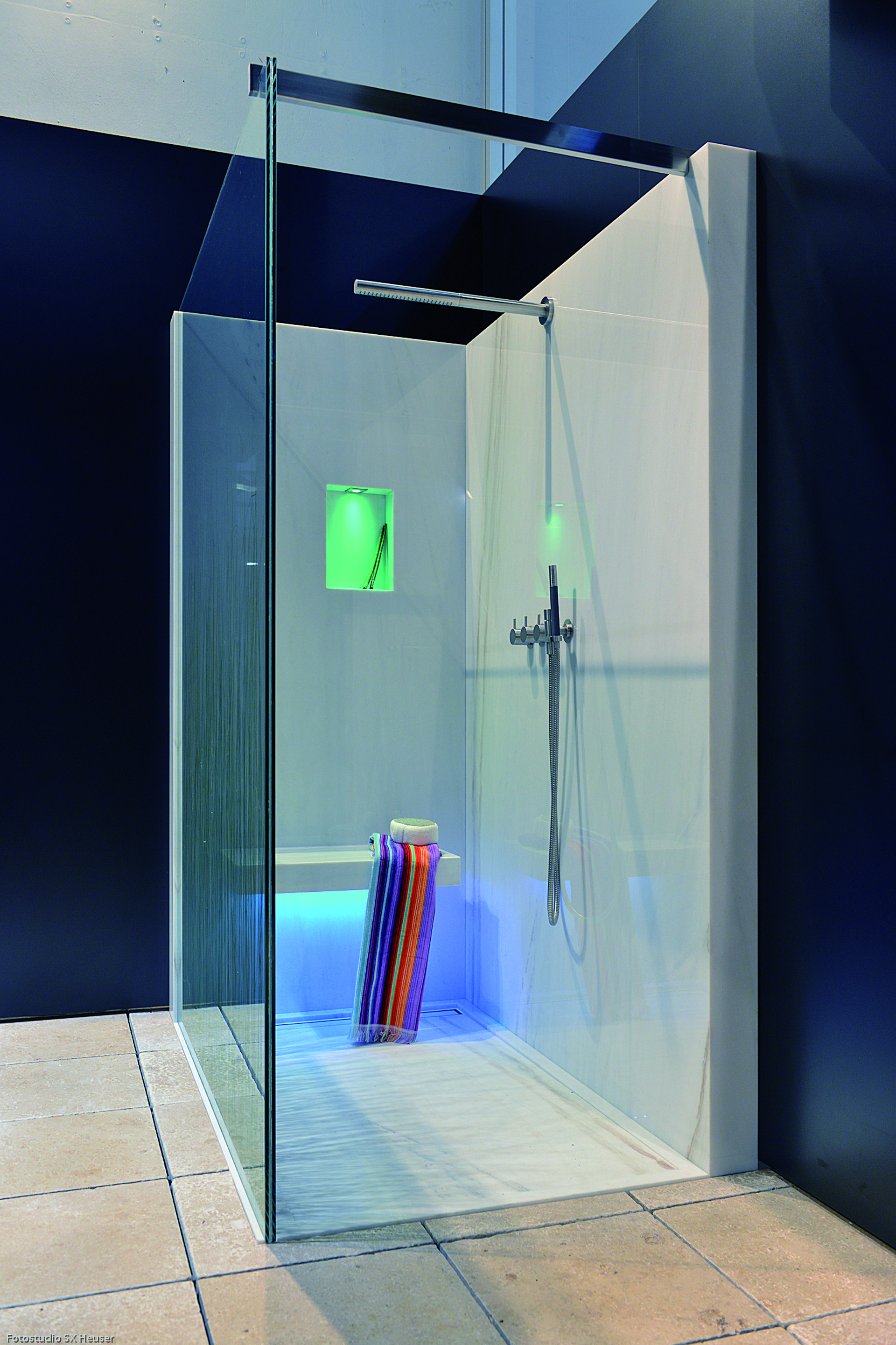 VOLA Free-standing thermostatic shower with hand shower., FS3 | VOLA ...