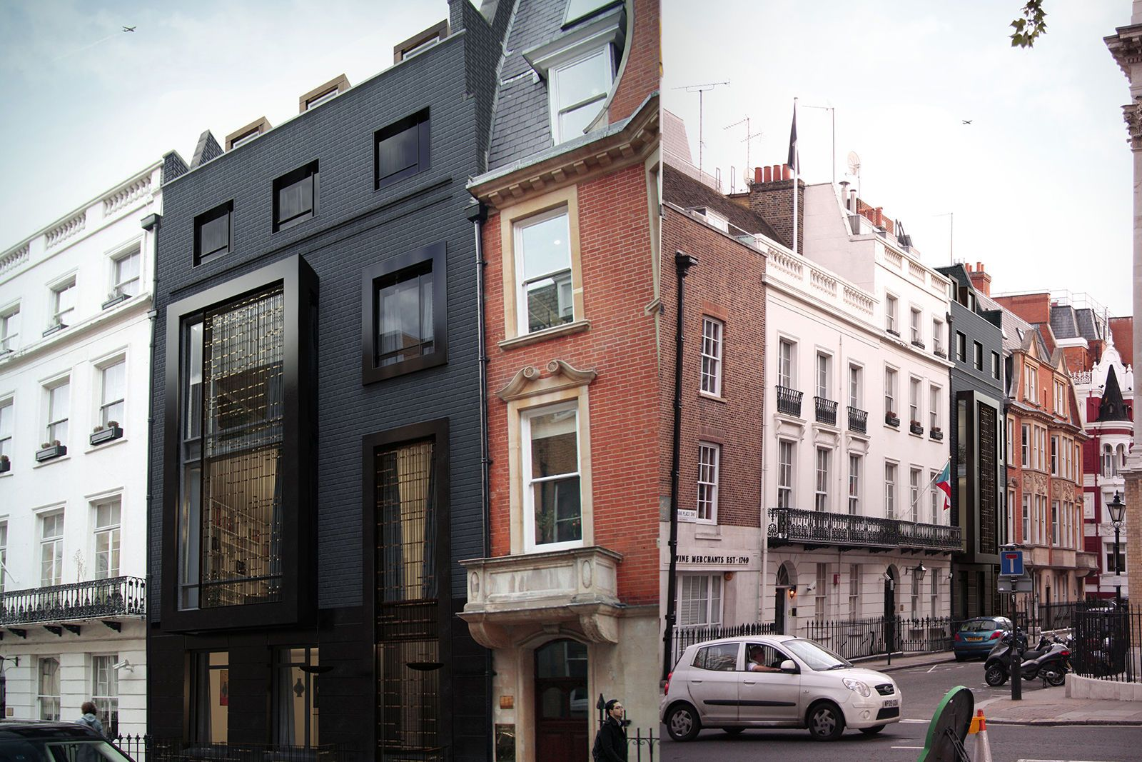 Residential architects residential interior design shh for Design companies london