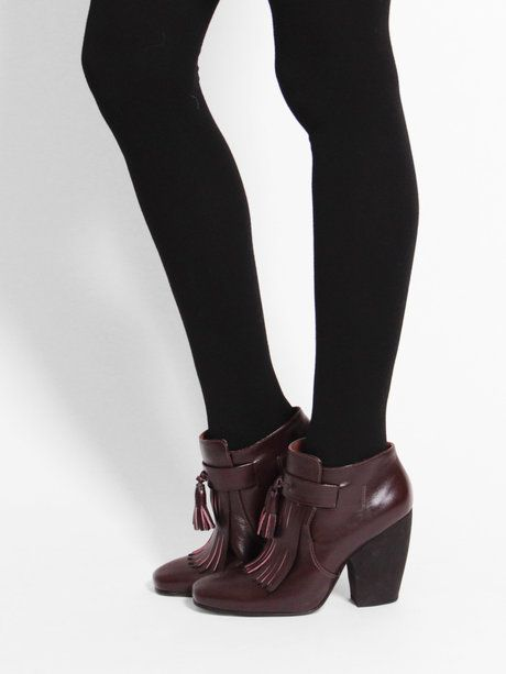Hansel from Basel Cashmere Tights - Black « Pour Porter