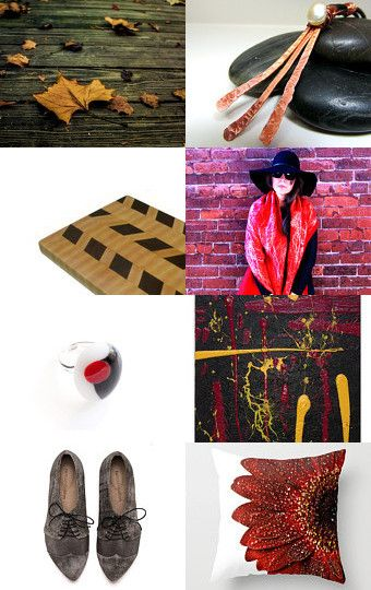 Fall trends, changing colors, red, yellow, brown