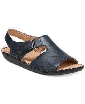 66b1ac807ec4 Naturalizer Scout Flat Sandals - Blue 9.5W