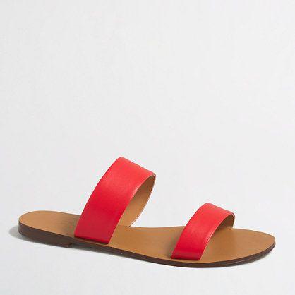 Half sizes order up. <ul><li>Polyurethane upper.</li><li>Man-made sole.</li><li>Import.</li></ul>