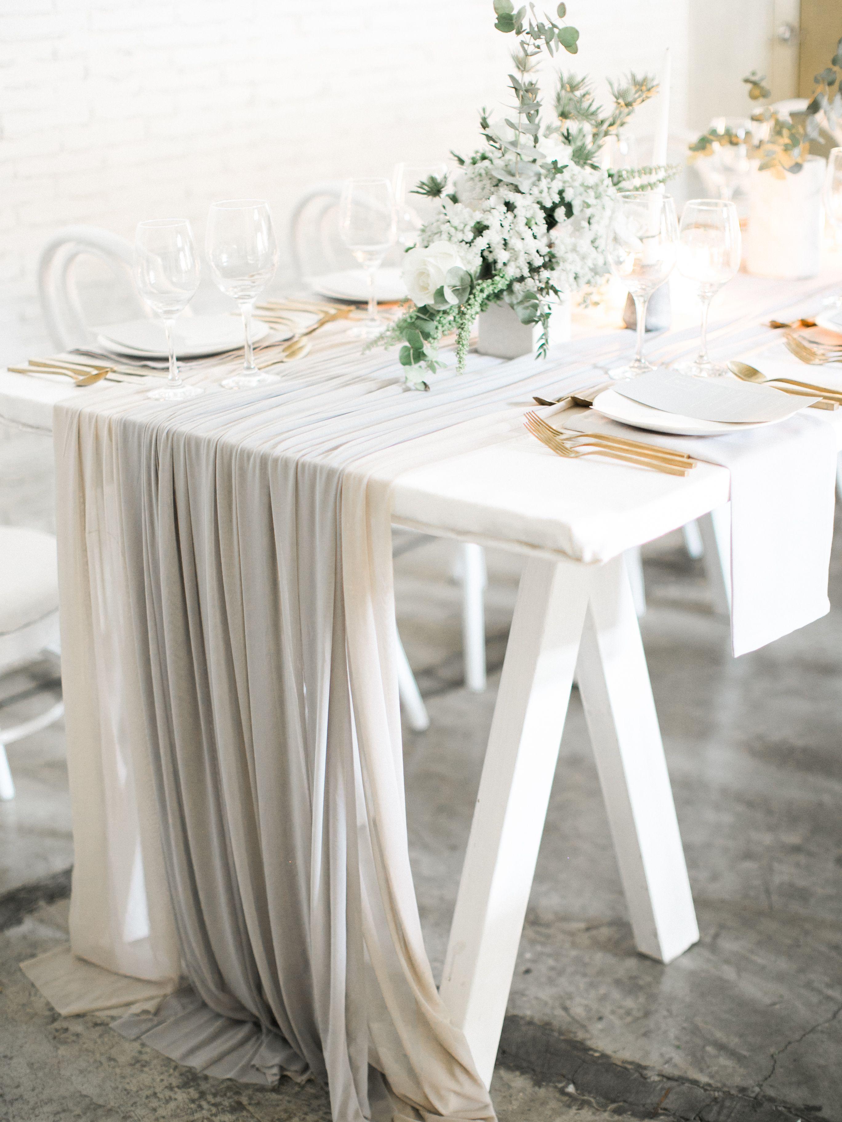 Modern Marble Minimalist Wedding Reception 2 Pinterest