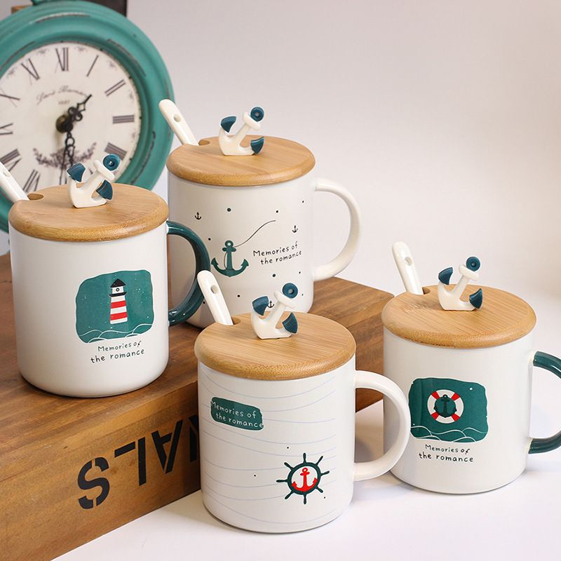 Personalized Colorful Ceramic Mug With Spoon In Handle For Sale Buy Customer Ceramic Coffee Mug Tea Mug Ceramic Mug Ceramic With Spoon Product On Starlights