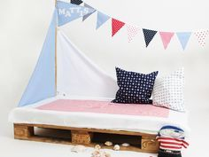 Maritimes Kinderzimmer ~ Ebook piratenzimmer bettsegel wimpelkette flagge segel