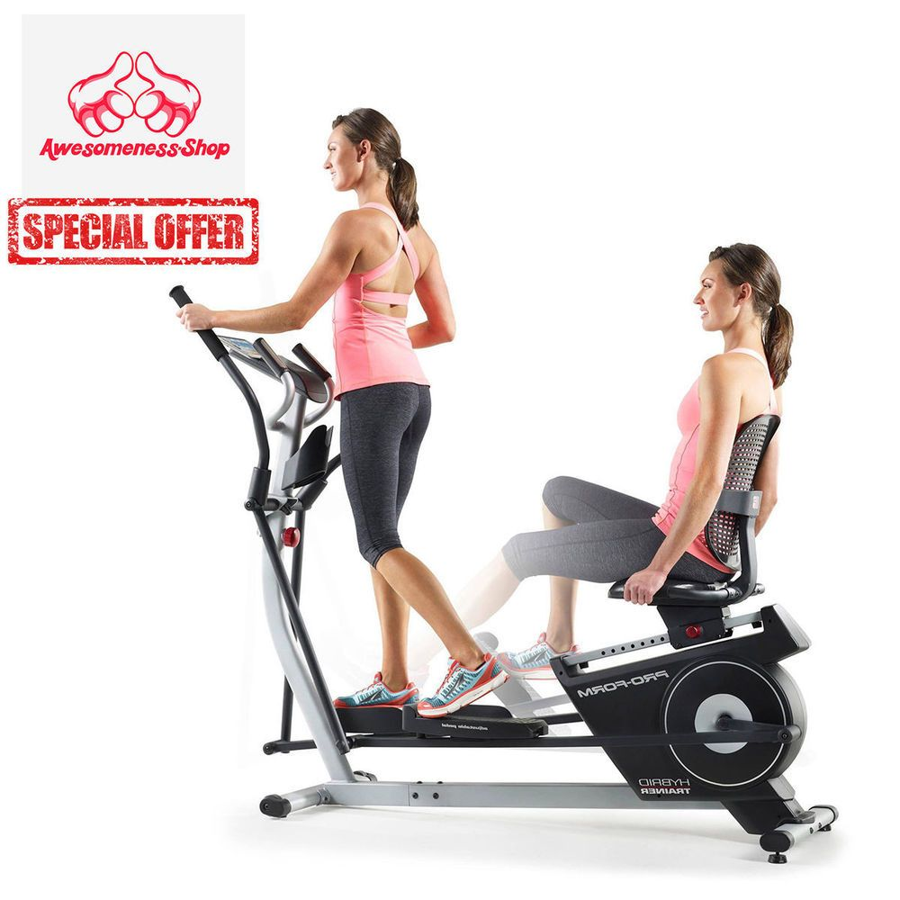 Elliptical Exercise Bike Recumbent Home Portable Seat Sit Cycle Machine Workoutu2026  sc 1 st  Pinterest : reclining elliptical machines - islam-shia.org