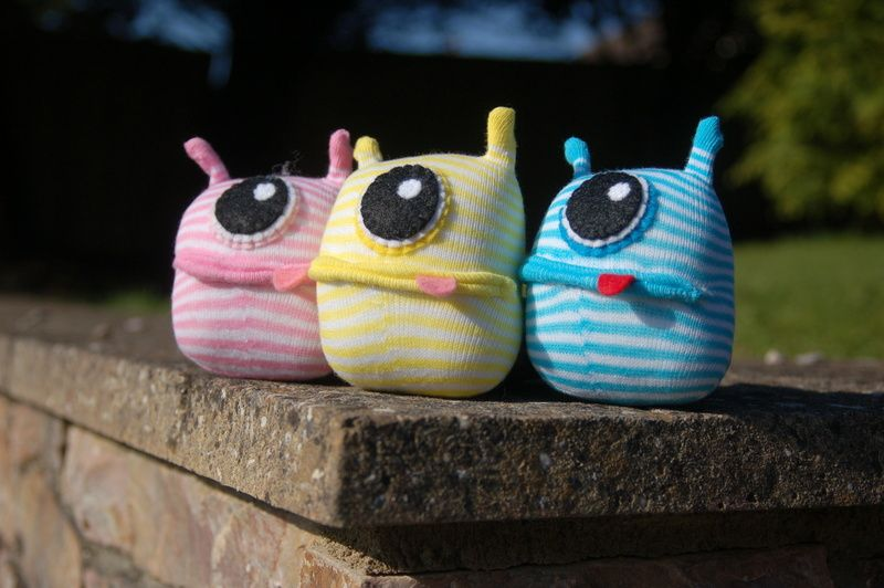 Pin by Dawn Zlin on Trinkets: Plushies & Softies | Sock