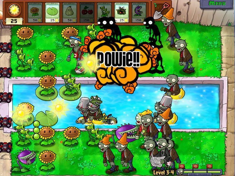 PopCap Studios Official EA Site Plantas vs zombies