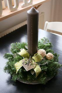 juledekoration kalenderlys - Google-søgning #kalenderlysdekorationer
