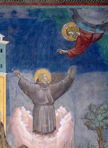 Giotto di Bondone - Der Hl. Franziskus in Ekstase