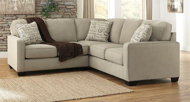 Ashley Furniture 16600 55 67 2 Pc Alenya Quartz Soft Textured