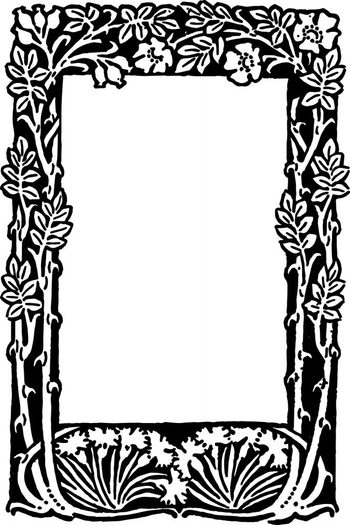free vector floral border frame floral border nifty and floral rh pinterest co uk vector borders and frames free free vector borders