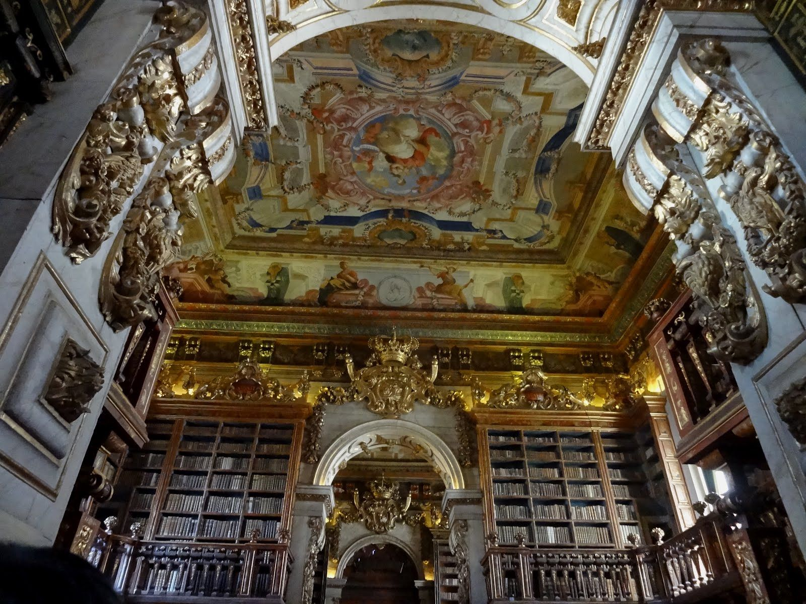 Portugal Universidade De Coimbra Biblioteca Joanina Source Http
