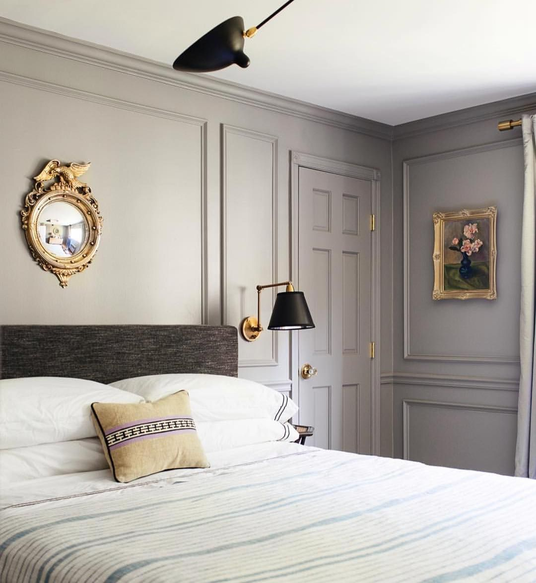 Decor Tip Do away with accent colors. Paint molding