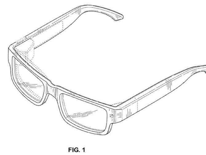 Patent Pictures Hint At Unobtrusive Google Glass Design Wearable Device Google Glass Smart Glasses