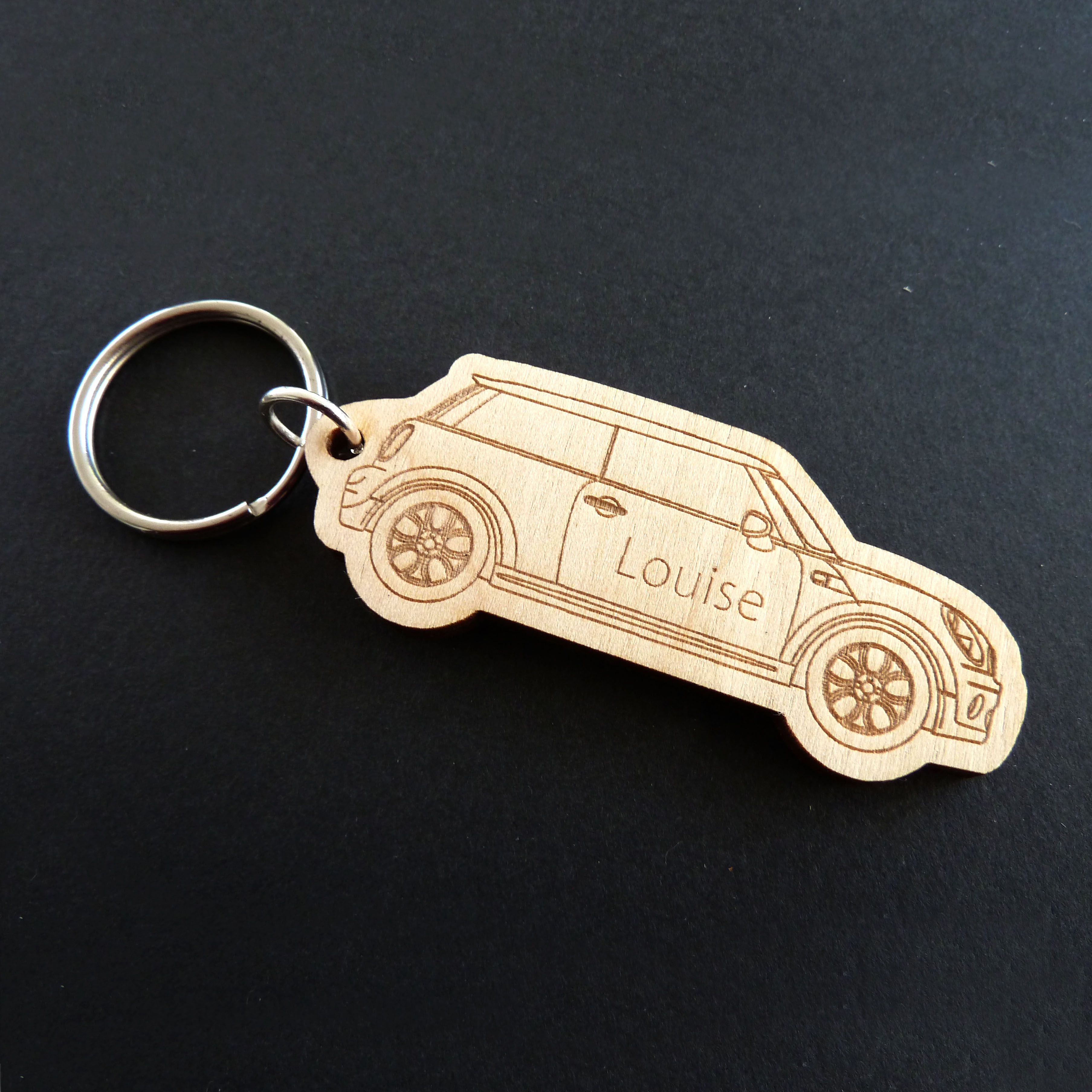 Boxed JEEP Keyring NEW UK Seller Silver
