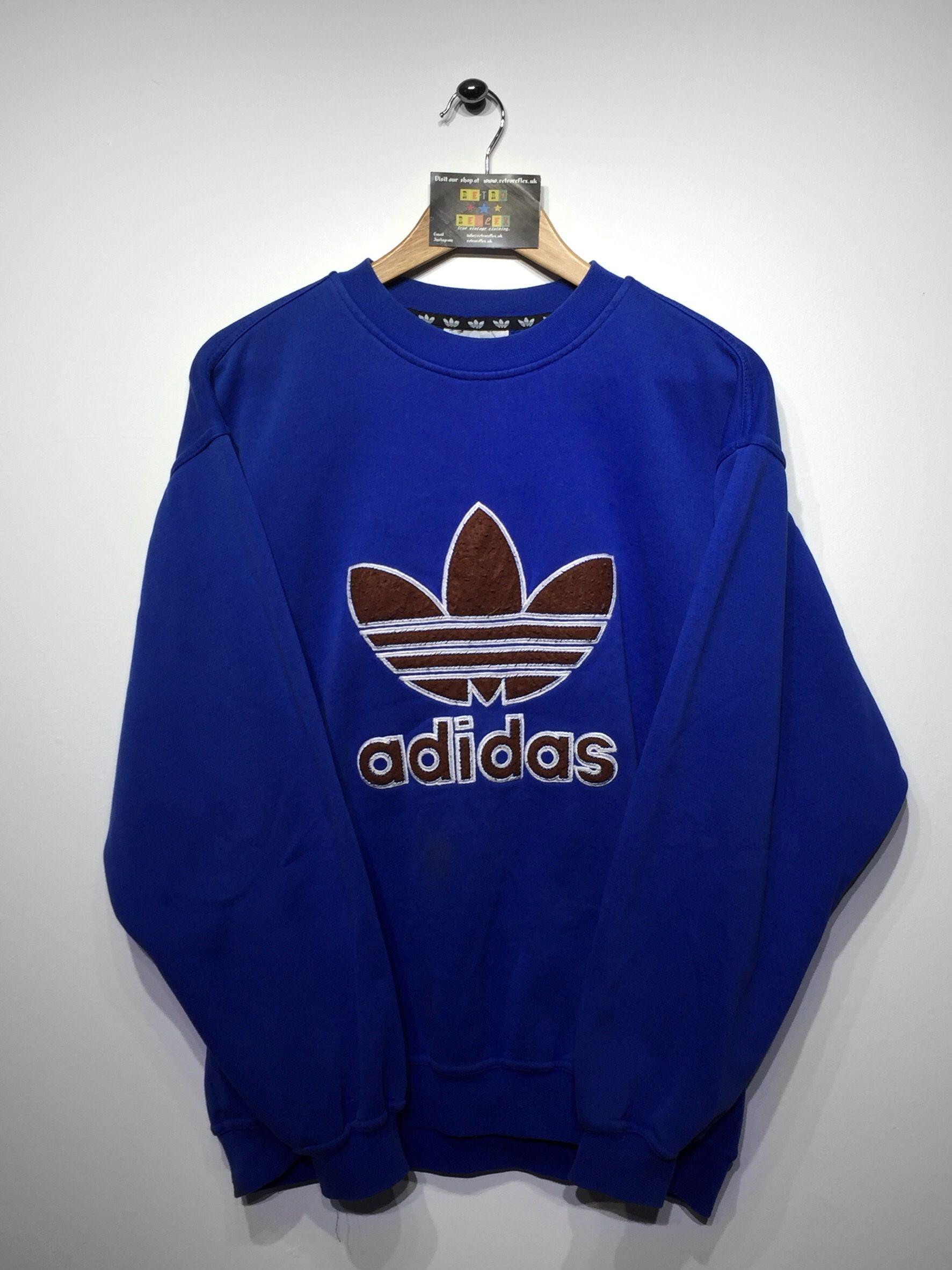 Adidas Sweatshirt size Small (but Fits Oversized) £36