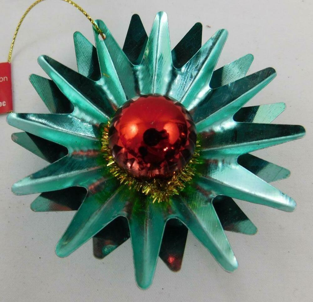 Ashland Christmas Holiday Ornament Metal Star Burst