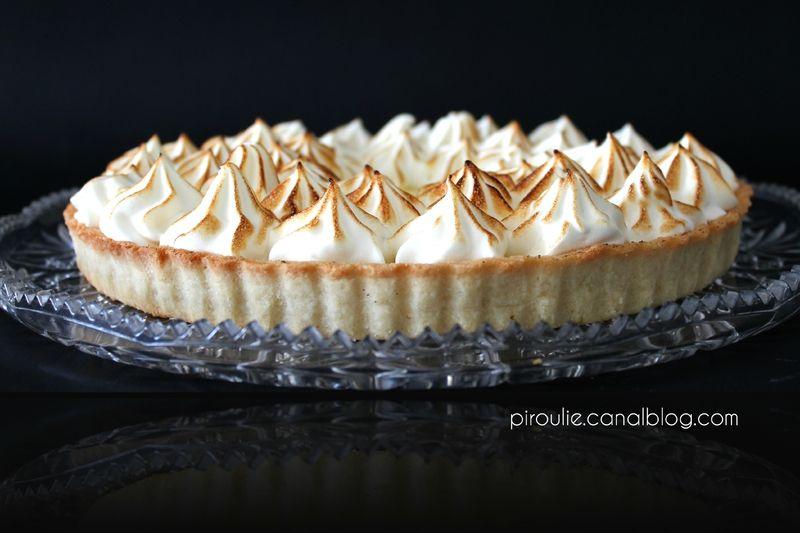 tarte au citron meringuée avec meringue originale