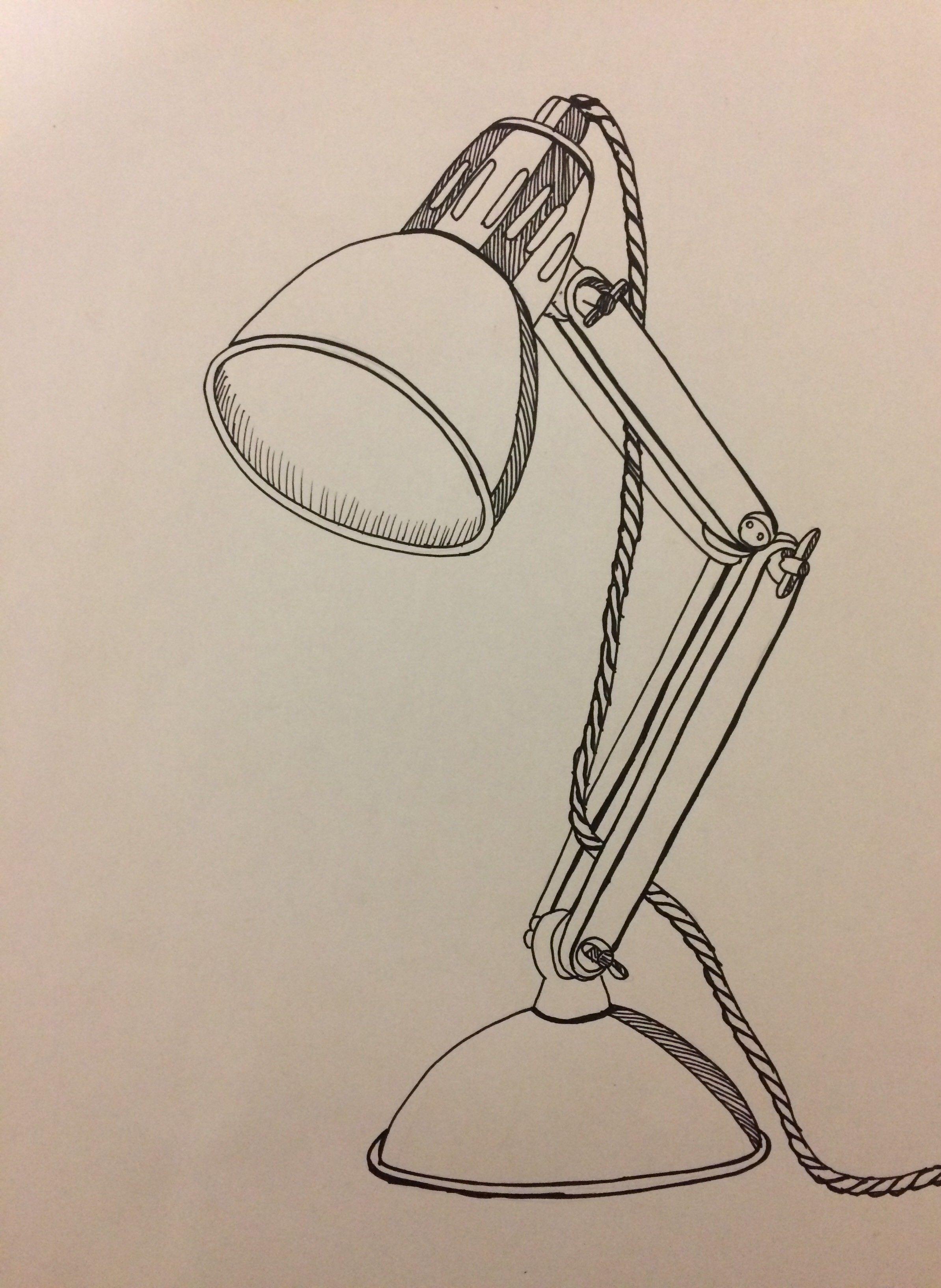 Day 15 Desk Lamp Fine Liner Desk Lamp Liner Day