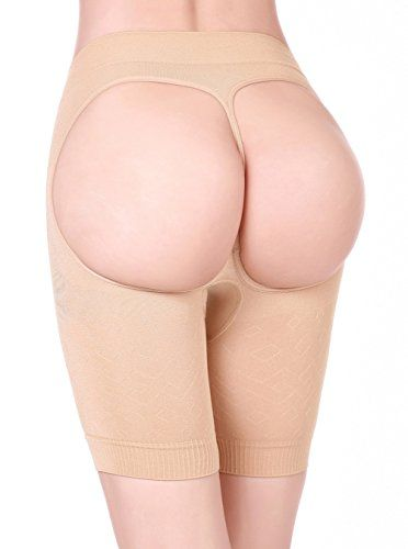 53e2002162db1 HOLYSNOW Women High Waist Cincher Pads Enhancer Underwear Panties Beige XS      Click image for more details. Note  It s an affiliate link to Amazon.