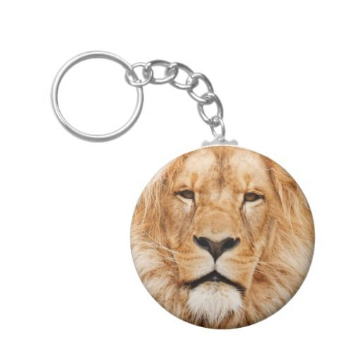 african lion animal artwork keychain