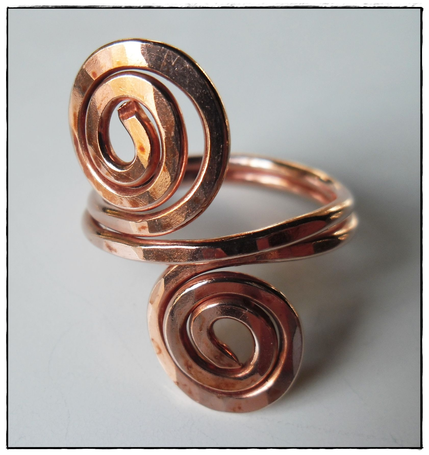 copper wire ring - Buscar con Google | Anillos | Pinterest | Copper wire