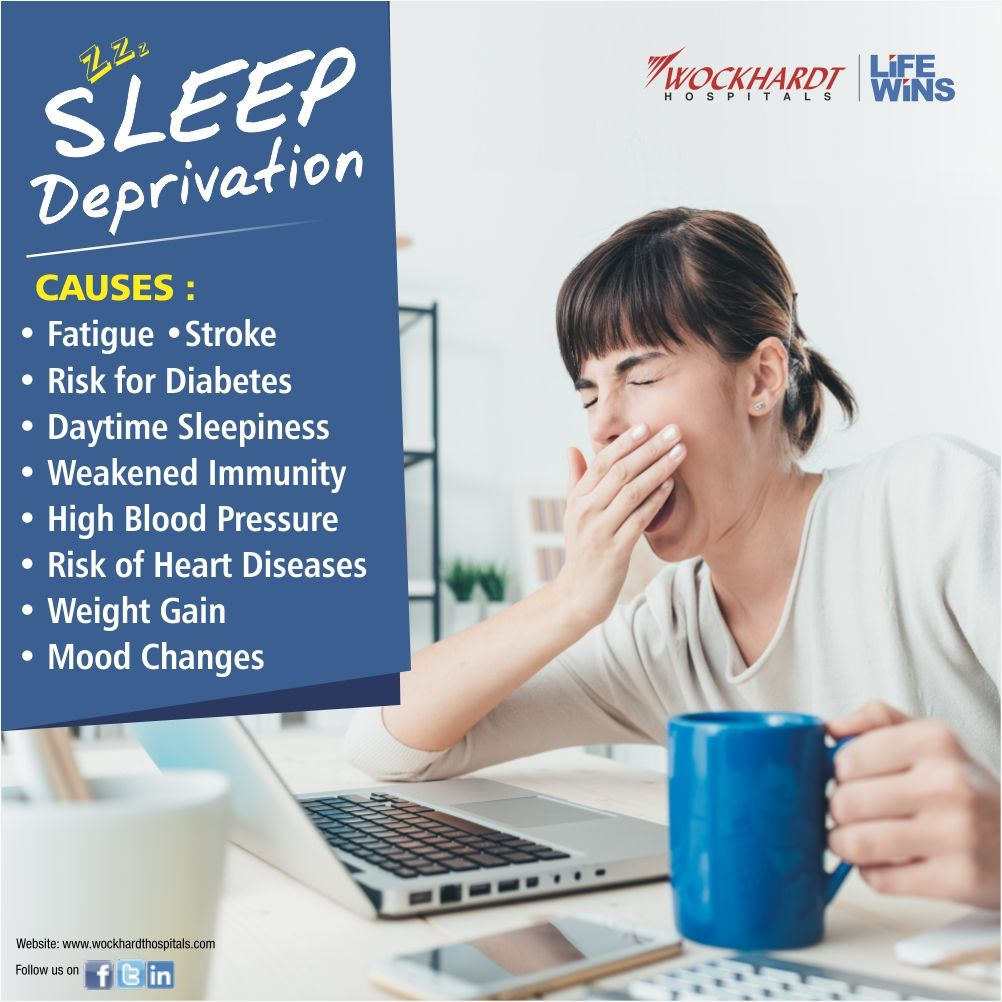 Sleep deprivation can have surprising effects on our body ...