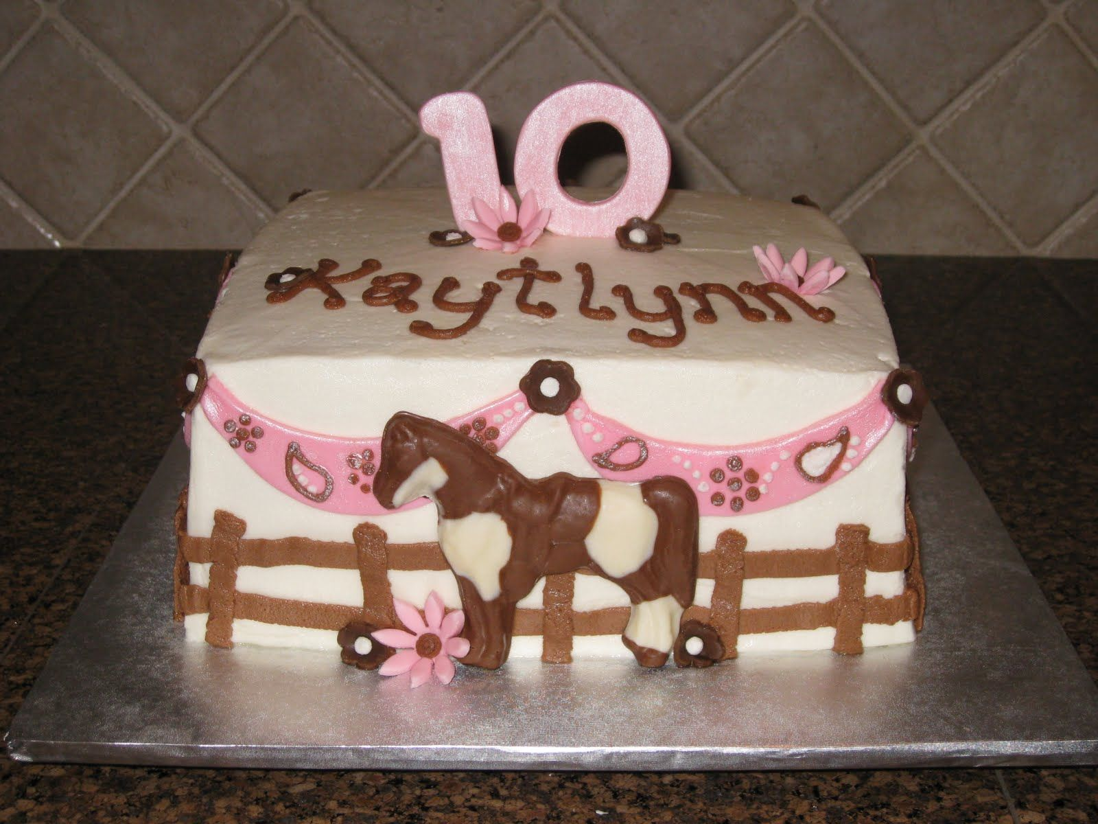 horse birthday cakes for girls Shannons Creative Cakes Birthday