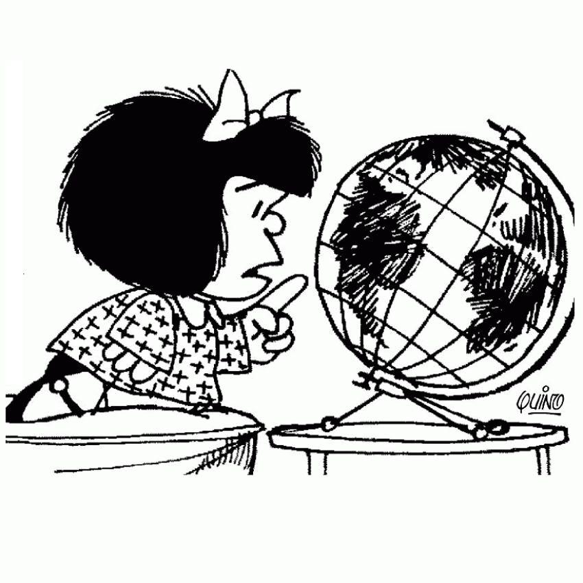 Dibujos para Colorear Mafalda 14 | Dibujos para colorear para niños ...