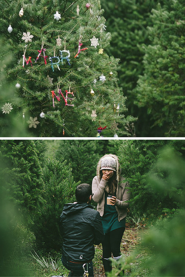 The Best Marriage Proposals From Around The World Christmas Proposal Marriage Proposals Christmas Engagement