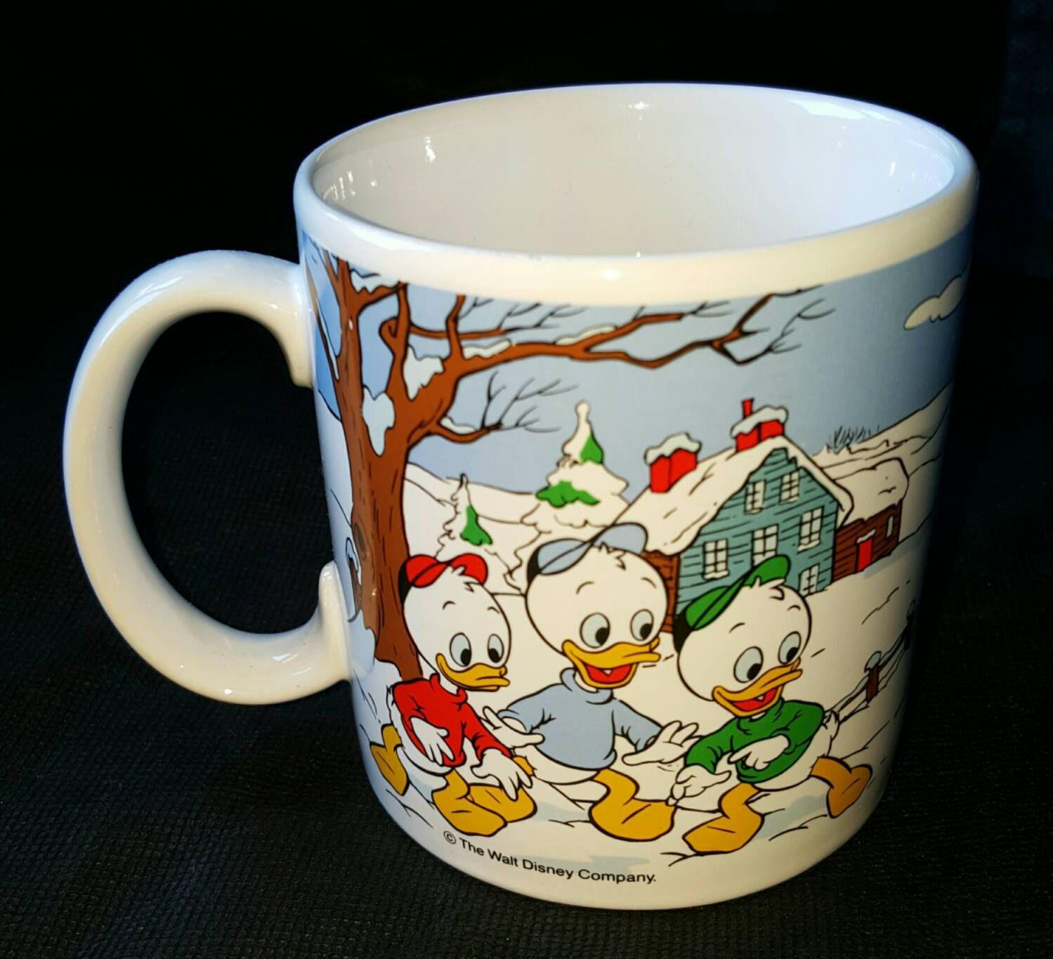 Disney Donald Duck Christmas Mug