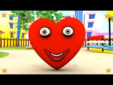 Learn Shapes | 3D Kindergarten Kids Songs | Baby Nursery Rhymes Collection by Little Treehouse ...