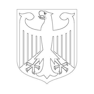 Malvorlage Wappen Deutschland Deutschland Wappen