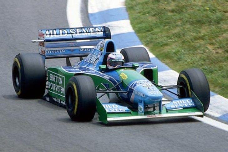 Benetton B194 Ford Zetec R V8 Benetton Indy Cars Rally Car