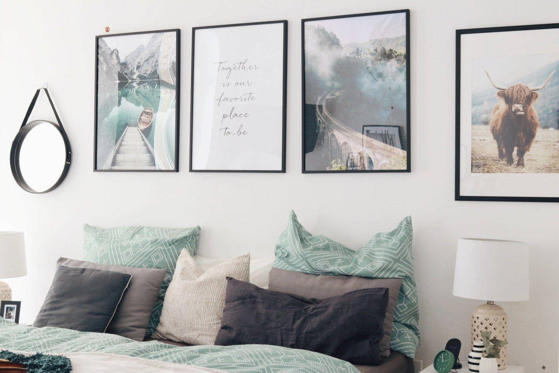 moderne wandbilder für das schlafzimmer: tipps für mehr